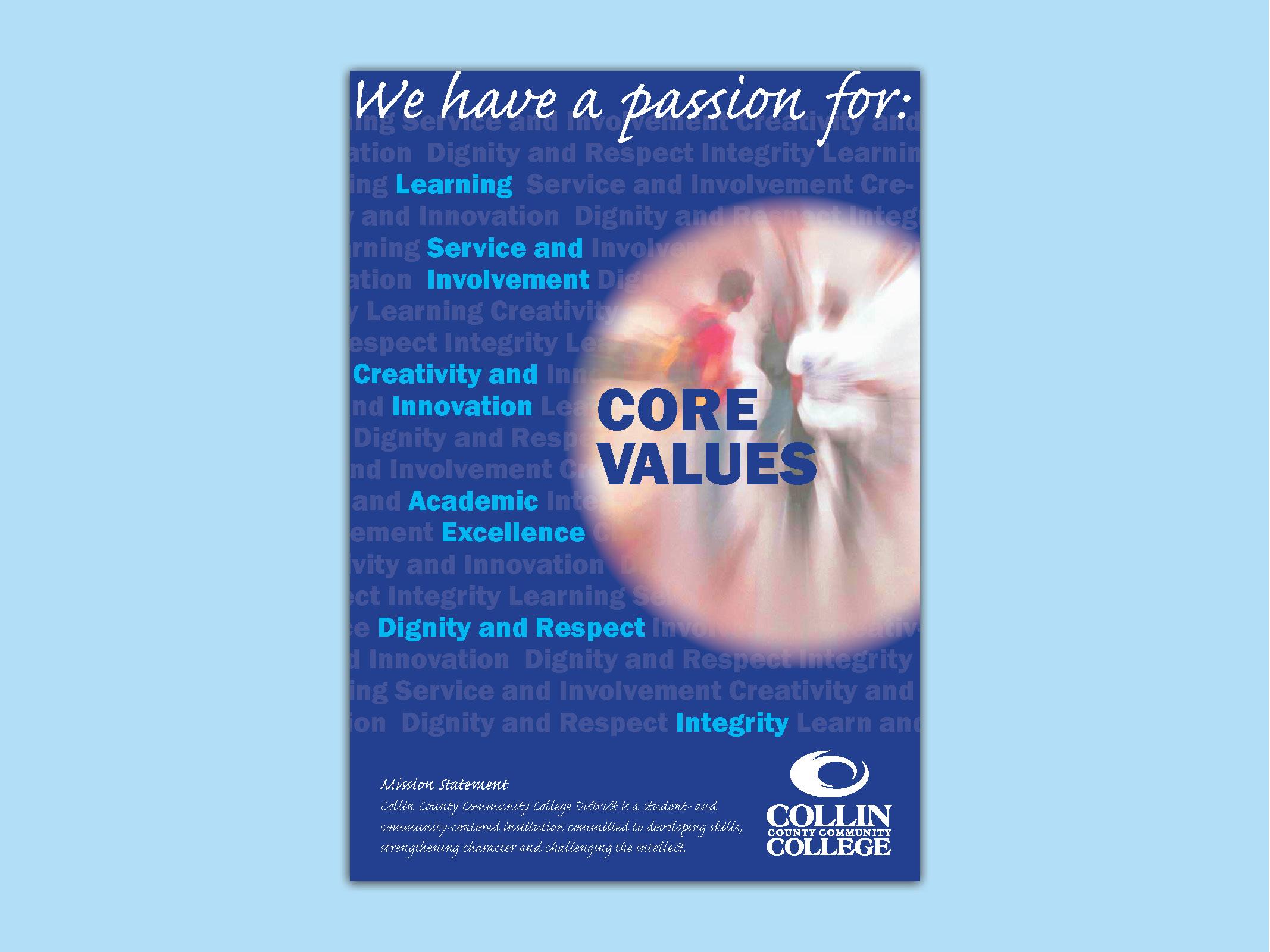 Collin College poster design